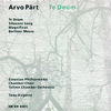 CD ECM Records Arvo Part: Te Deum