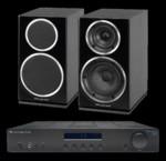 Wharfedale Diamond 220 + Cambridge Audio Topaz AM10