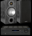 Monitor Audio Bronze 2 + Cambridge Audio Topaz SR20
