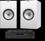 KEF Q350 + Cambridge Audio Topaz SR20
