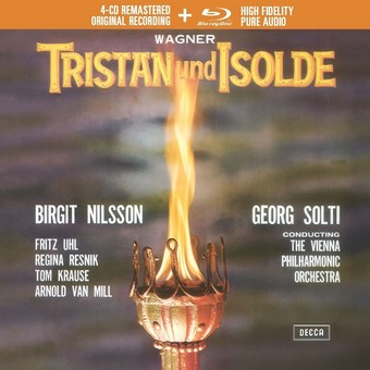 CD Decca Wagner: Tristan Und Isolde ( Solti - Nilsson, Uhl, Resnik, Krause ) CD + BluRay Audio