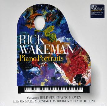 VINIL Universal Records Rick Wakeman - Piano Portaits