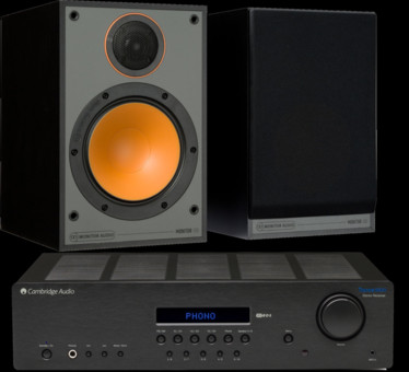 Pachet PROMO Monitor Audio Monitor 100 + Cambridge Audio Topaz SR20