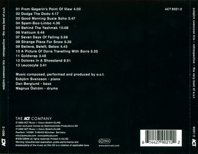 VINIL ACT Esbjorn Svensson Trio: Retrospective - Best of