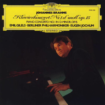 VINIL Universal Records Brahms: Piano Concerto No.1 In D Minor (Gilels, Jochum, Berliner)