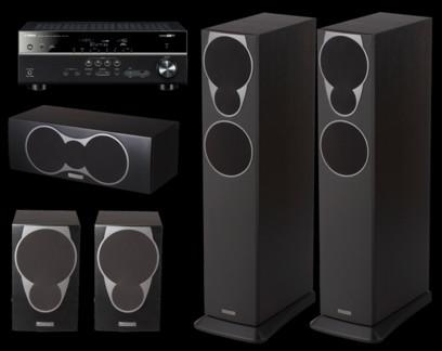 Pachet PROMO Mission MX-3 5.0 pack + Yamaha RX-V381