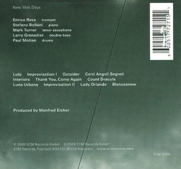 VINIL ECM Records Enrico Rava: New York Days