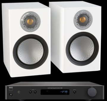 Pachet PROMO Monitor Audio Silver 50 + NAD C 338