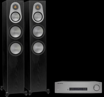 Pachet PROMO Monitor Audio Silver 300 + Cambridge Audio CXA81