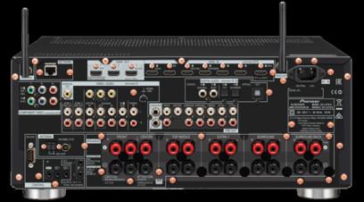 Receiver Pioneer SC-LX79 Negru