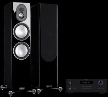 Pachet PROMO Monitor Audio Gold 300 (5G) + Rotel RA-1592