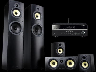 Pachet PROMO Wharfedale Crystal 4 5.0 set + Yamaha RX-V481