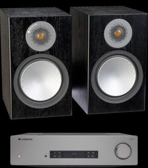 Pachet PROMO Monitor Audio Silver 100 + Cambridge Audio CXA61