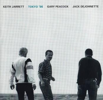 CD ECM Records Keith Jarrett Trio: Tokyo'96