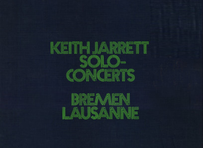 CD ECM Records Keith Jarrett: Solo Concerts Bremen / Lausanne