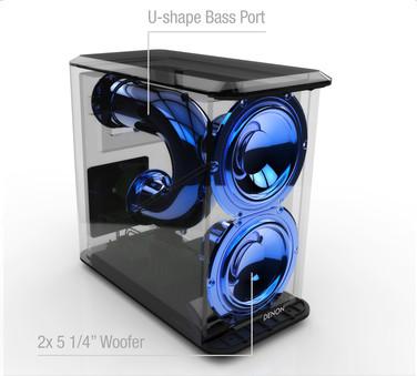 Soundbar Denon DHT-S514, Subwoofer Wireless, Bluetooth aptX