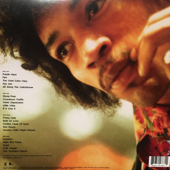 VINIL Universal Records The Jimi Hendrix Experience - The Best of