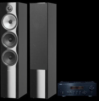 Pachet PROMO Bowers & Wilkins 703 S2 + Yamaha A-S1200