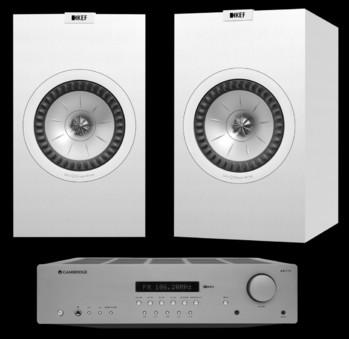Pachet PROMO KEF Q350 + Cambridge Audio AXR100