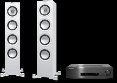 Pachet PROMO KEF Q550 + Cambridge Audio CXA80