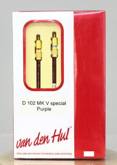 Cablu Van den Hul D-102 V Special Purple RCA 1m