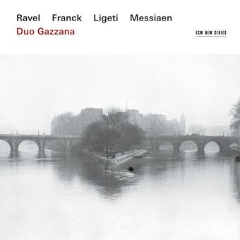 CD ECM Records Duo Gazzana - Ravel / Franck / Ligeti / Messiaen