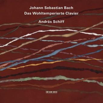 CD ECM Records Andras Schiff - Bach: Das Wohltemperierte Clavier
