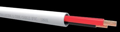 Cablu QED QX16/2 PVC White