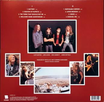 VINIL Universal Records Metallica - Master of Puppets