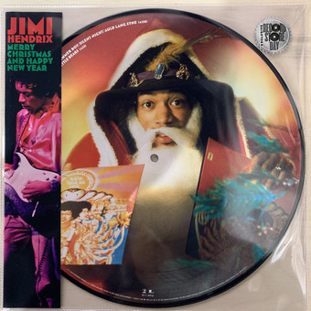 VINIL Universal Records Jimi Hendrix - Merry Christmas And Happy New Year