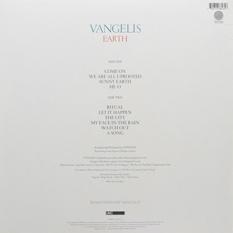 VINIL Universal Records Vangelis - Earth