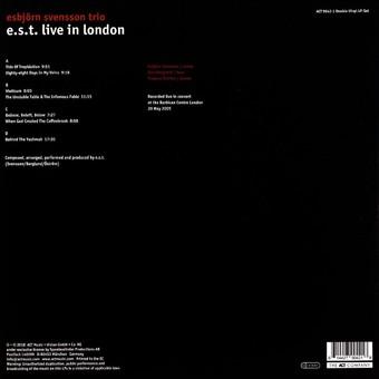 VINIL ACT Esbjorn Svensson Trio: Live In London