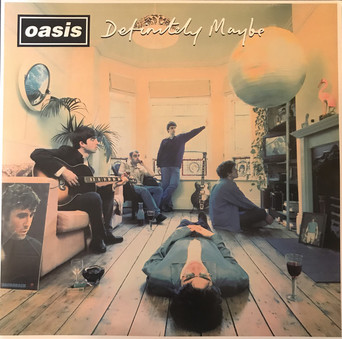 VINIL Universal Records Oasis - Definitely Maybe (20th anniversary ) Remastered)