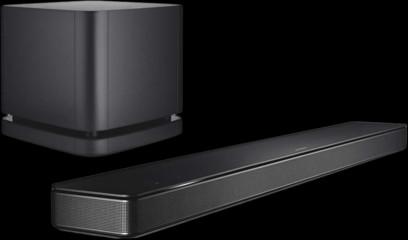 Pachet PROMO Bose Soundbar 500 + Bose Bass Module 500