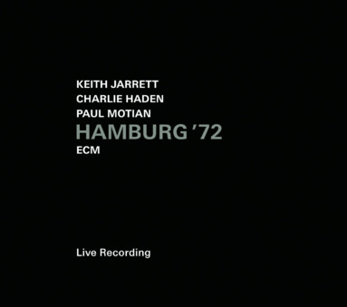 CD ECM Records Keith Jarrett / Charlie Haden / Paul Motian: Hamburg '72