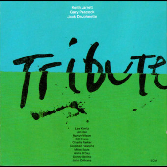 CD ECM Records Keith Jarrett Trio: Tribute