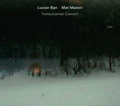 CD ECM Records Lucian Ban/Mat Maneri: Transylvanian Concert
