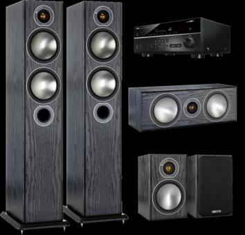 Pachet PROMO Monitor Audio Bronze 5 pachet 5.0 + Yamaha RX-V685