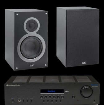 Elac Debut B6 + Cambridge Audio Topaz SR20