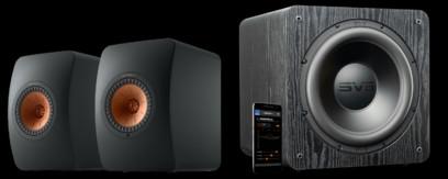 Pachet PROMO KEF LS50 Wireless II + SVS SB-2000 PRO