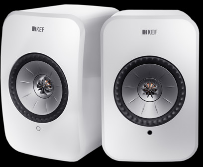 Boxe active KEF LSX wireless streaming