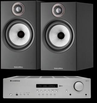 Pachet PROMO Bowers & Wilkins 606 S2 Anniversary Edition + Cambridge Audio AXR85