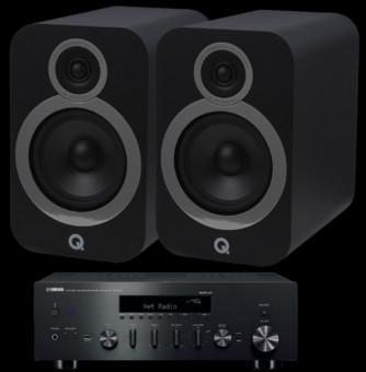 Pachet PROMO Q Acoustics 3030i + Yamaha R-N602