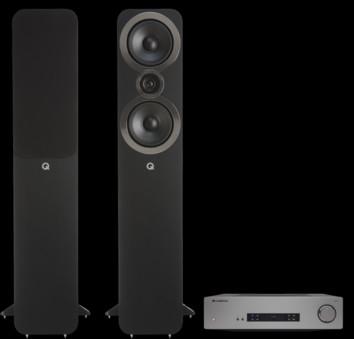 Pachet PROMO Q Acoustics 3050i + Cambridge Audio CXA61