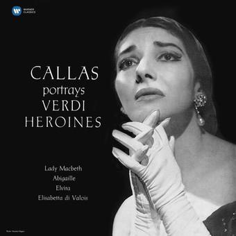 VINIL WARNER BROTHERS Maria Callas - Callas Portrays Verdi Heroines