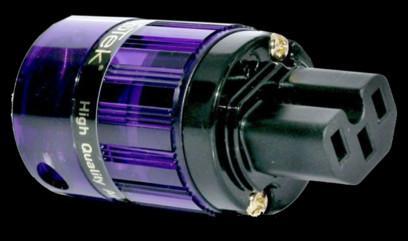 Isotek Conector IEC 24ct Gold