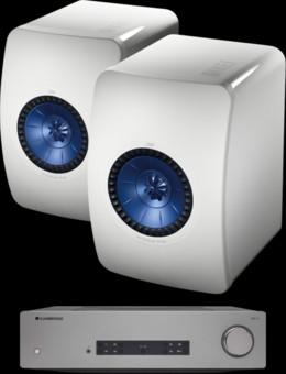 Pachet PROMO KEF LS50 + Cambridge Audio CXA61