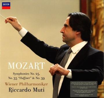 VINIL ProJect Vienna Philharmonics, Riccardo Muti : Mozart - Symphonies 25, 35 & 39