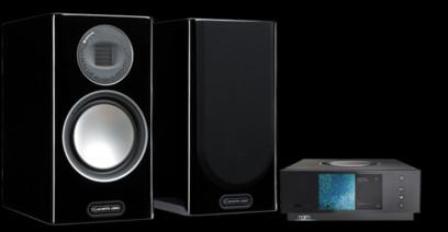 Pachet PROMO Monitor Audio Gold 100 (5G) + Naim Uiniti Atom