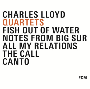 CD ECM Records Charles Lloyd: Quartets (5-CD Box)